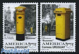 UPAEP, Mail boxes 2v