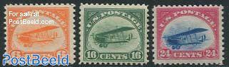 Postal flights 3v