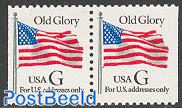 Old glory booklet pair