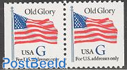 Old glory booklet pair (blue G)
