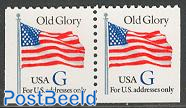 Old glory bottom booklet pair