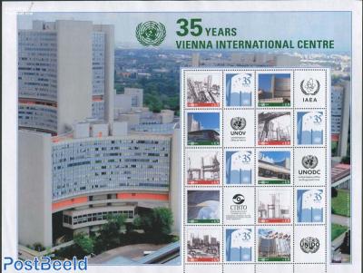 35 Years Vienna International Centre 10v m/s