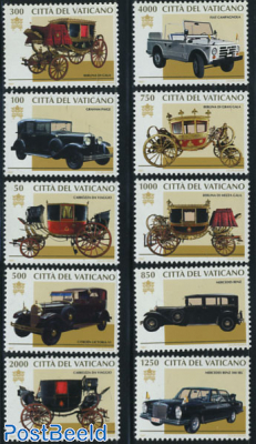 Automobiles & coaches 10v