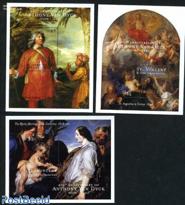 Anthony van Dyck 3 s/s