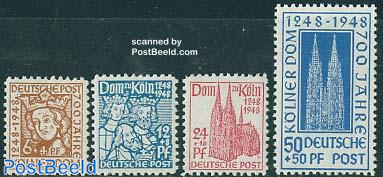 Cologne cathedral 4v
