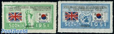 UNO War support, Great Britain 2v